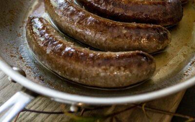 Forage Bison Sausage
